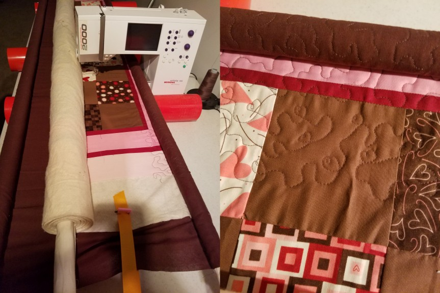 The Actual Process of Quiltng