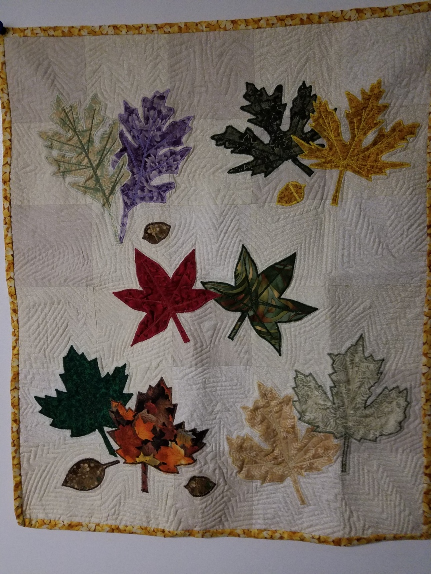 Practice the quilting, practice thequilting