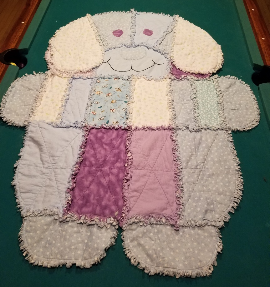 A Dog Quilt for my Great Nephew