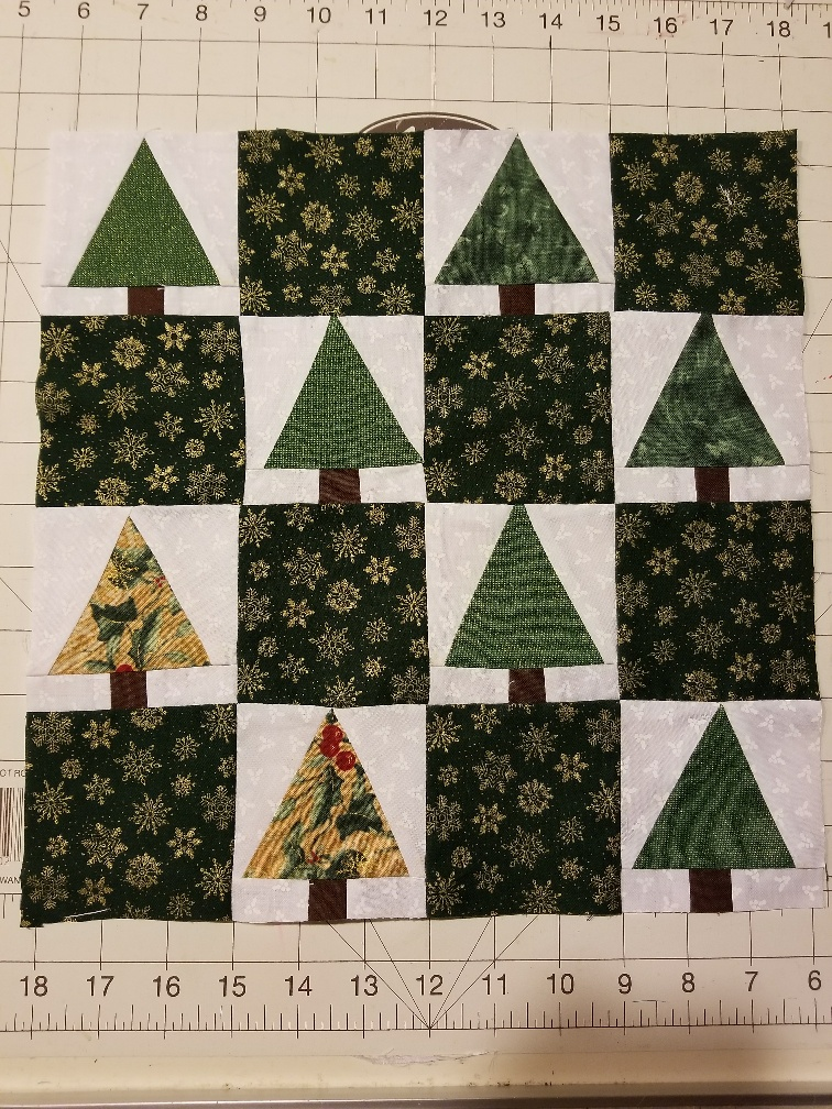 Block #2 – I wish you a Merry Quilt Along and a bitmore