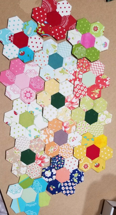 """Hand Quilt Along – More progress and my """"other"""" project"""