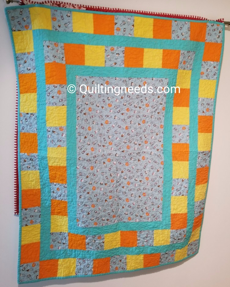 The Hand Quilt Along and My One Monthly Goal