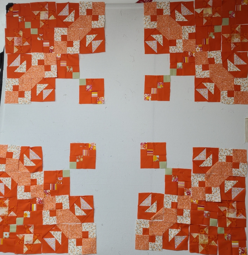 Mystery Quilt Clue #4 – GettingWeirder